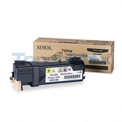 XEROX PHASER 6130 TONER CARTRIDGE YELLOW